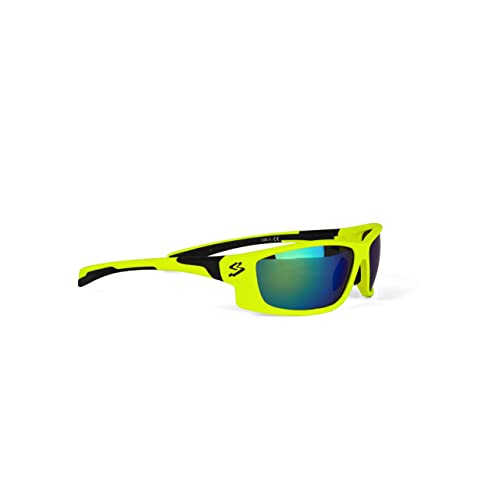 a89bdc854a Spiuk GSPIANEV Gafas de Ciclismo, Unisex Adulto, Amarillo Mate/Negro