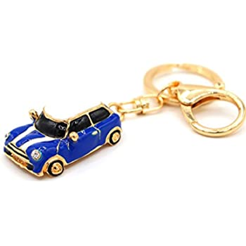 Porotmotor Stainless Steel Smart Key Fob Ring Rim Trim Cover Replacement For Mini Cooper In Chrome Graphit