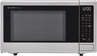 Sharp ZSMC1449FS Smart Countertop Microwave Oven 1.4 Cubic Foot, Stainless Steel-Works with Alexa — A Certified for Humans Device