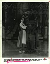 1994 Press Photo Ice Skaters In Walt Disney's World On Ice, Beauty and the Beast