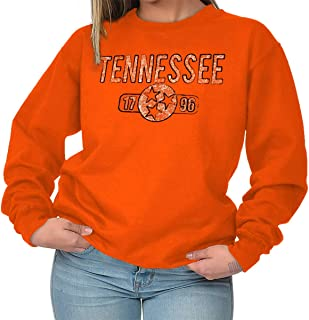 Tennessee State Flag Vintage TN Americana Crewneck Sweatshirt