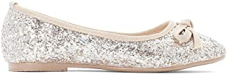 La Redoute Collections Girls Sparkly Ballet Pumps
