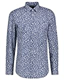 BOSS Camisa de negocios Isko Slim Fit de manga larga para hombre Azul (450 Light/Pastel Blu) 43