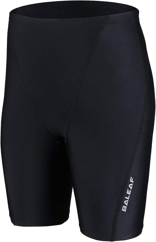 BALEAF Boys' Athletic Swim Jammer UPF 50+ Quick Dry Youth Training Swimming Short: Clothing