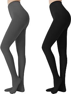 Libella Damen Thermo Strumpfhose mit Innenfleece Blickdichte Leggings extra warm für Herbst Winter 4152VA