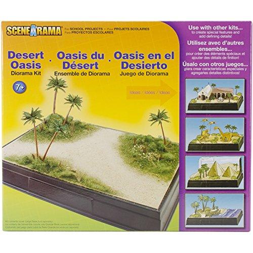 Woodland Scenics Diorama Kit-Deserto Oasi