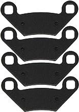 NICHE Brake Pad Set for Polaris Sportsman 400 500 570 800 Scrambler 850 2203628 Front Rear Semi-Metallic 2 Pack