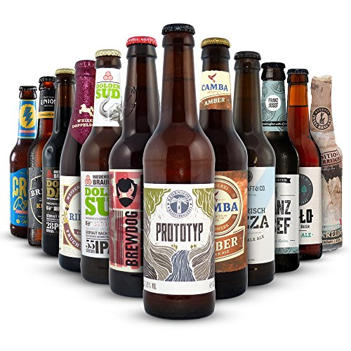 Craft Beer Kennenlern Paket, MEHRWEG (12 x 0.33 l)