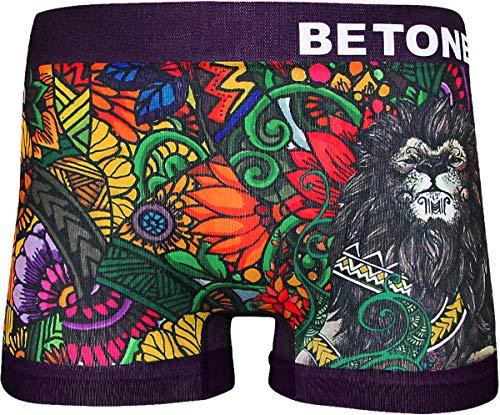 (ビトーンズ) BETONES ボクサーパンツ メンズ 立体成型 フリーサイズ 男性 下着 (フリーサイズ, GRACEFUL (メンズ))