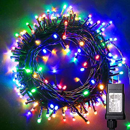 Blingstar Christmas Lights Colored String Lights 33ft 100 LED Waterproof Multicolor Twinkle product image