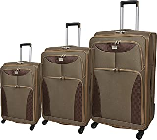 NEW TRAVEL Luggage Soft set 3 pieces size 28/24/20 inch 8896/3P (4w)