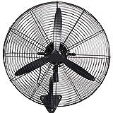 Koovin Ventilatore da Parete-Ventilatore Industriale a Parete, Ventilatore oscillante a...
