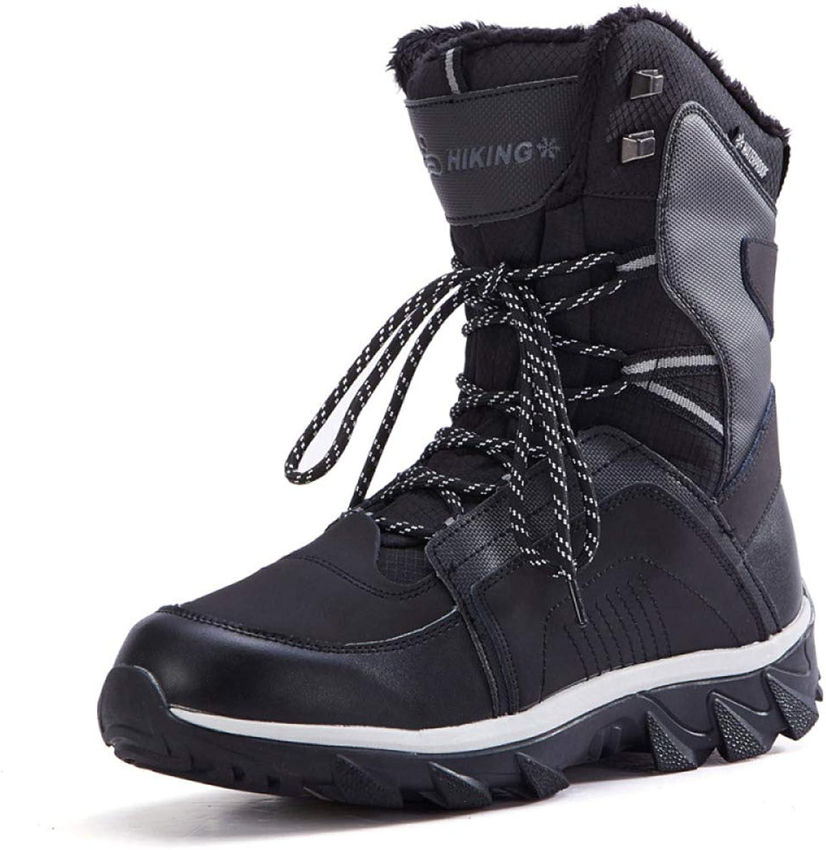 GTYW, Mans utomhus Snow Snow Snow stövlar, Ski stövlar, Hiking skor, Warm skor, Lace -up skor, Mode Mans Casual skor, 40 -44  varm begränsad upplaga