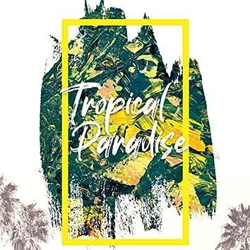 Tropical Paradise – Cool Breeze, Hot Sun, Ibiza Coast, Sunset Sky