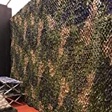 Épais Tissu Oxford Camo Filet de Camouflage, Armée de Chasse Forêt Camo Net...