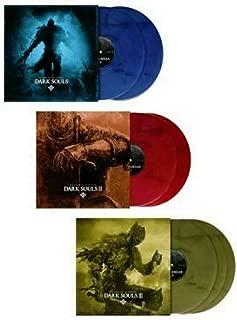 Dark Souls 1, 2 & 3: The Vinyl Collection - Exclusive Limited Edition Red, Bronze And Blue Vinyl LP (9 LP Bundle)