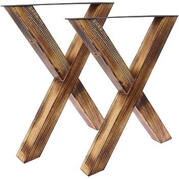 Tischgestell U geflammt 8080 Tischbein Tischkufen Esstisch Bentatec 2 St/ück
