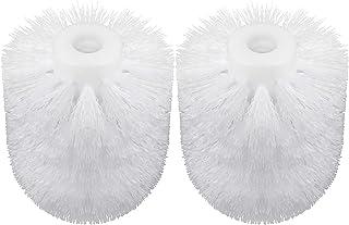 IXO Toilet Brush Head 2 Pack, Plastic Replacement Brush Head(White)