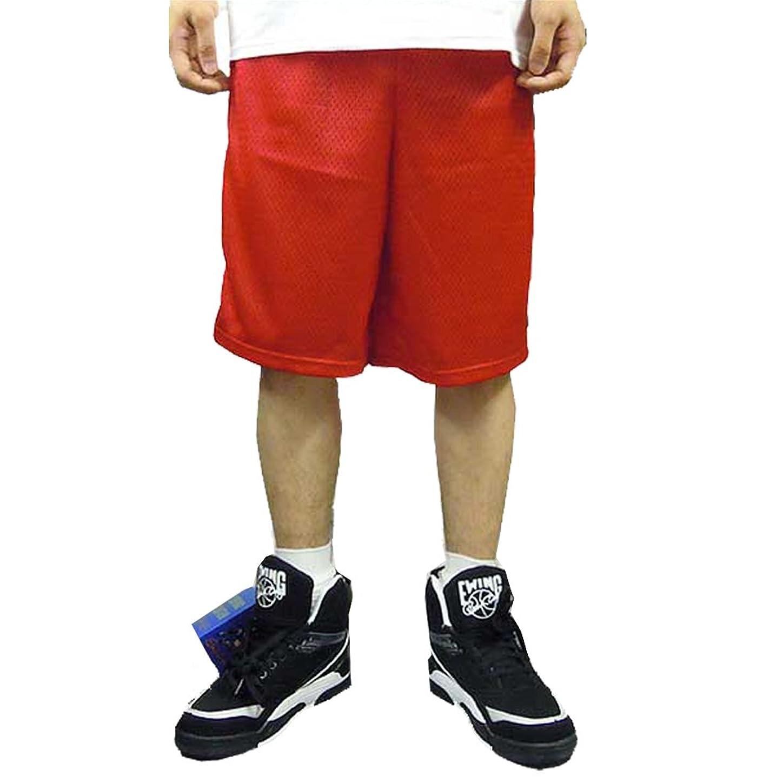 鎮痛剤軌道肘掛け椅子チャンピオン ジムショーツ(メッシュ素材) RED