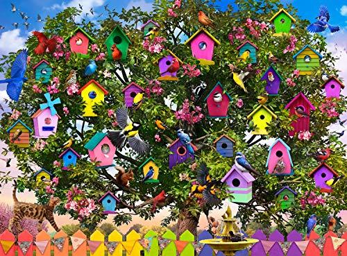 Buffalo Games - Bird Hotel - 1000 Piece Jigsaw Puzzle