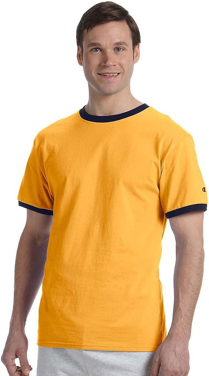 Champion Men's Double Dry Mesh Heather Long Sleeve T-Shirt