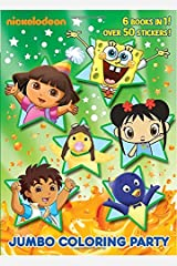 Jumbo Coloring Party (Nick Jr.) (Jumbo Coloring Book: Nickelodeon) Paperback