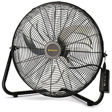 Lasko Stanley 655650 Max Performance High Velocity Floor Fan