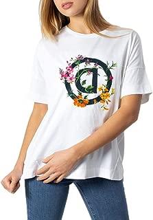 Luxury Fashion | Desigual Womens 20SOTK43WHITE White T-Shirt | Autumn-Winter 19
