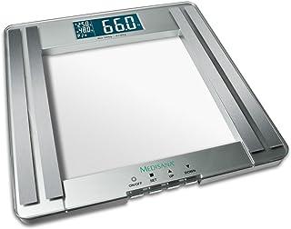 Báscula Medisana de cristal de peso personal y análisis PSM