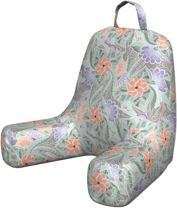 Lunarable Floral Reading Pillow Cover overseas of Lavender OFFicial store Full B Garden