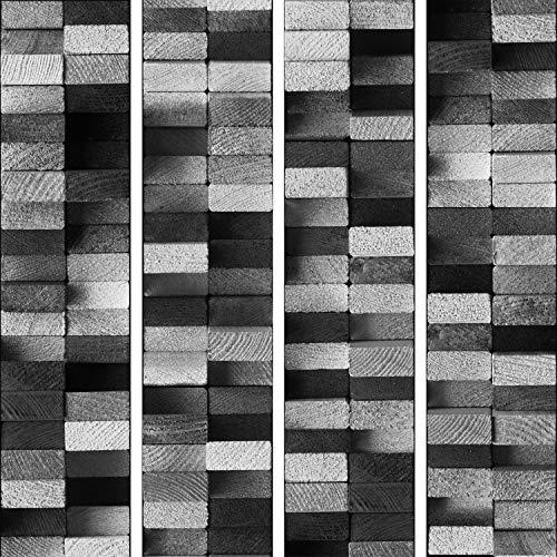 murando Carta da parati PURO 10 m senza ripetere il motivo Fotomurali in TNT Murale Decorazione da Muro XXL Poster Gigante Design Carta per pareti legno f-A-0344-j-d