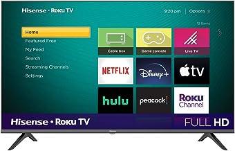 """Televisión de 43"""" Hísense SmartTV Full HD Asistente de Google y Motion Rate 120 43H4030F3 Mod.2020(Renewed)"""