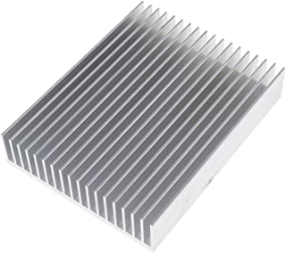 Baosity Semiconductor Transistor Heatsink Fin for Electrical Equipment Cooling Fan Computer Component Accessory 150x117x30mm