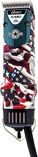 popular Oster American Flag Patriotic A5 Turbo outlet online sale outlet online sale Two Speed Professional Pro Clipper outlet online sale