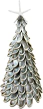 Beachcomber Polished Abalone Shell Tabletop Tree with Resin Starfish Topper 04068 18 Inches x 7.5 Inches