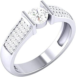 Voylla Silver Ring for Women (8907617155753)