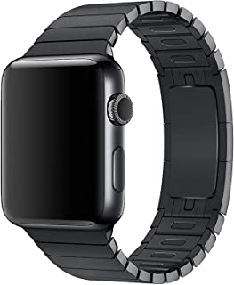 Other Stainless Steel Band Strap With Screen Protector For 42Mm Apple Watch, Black