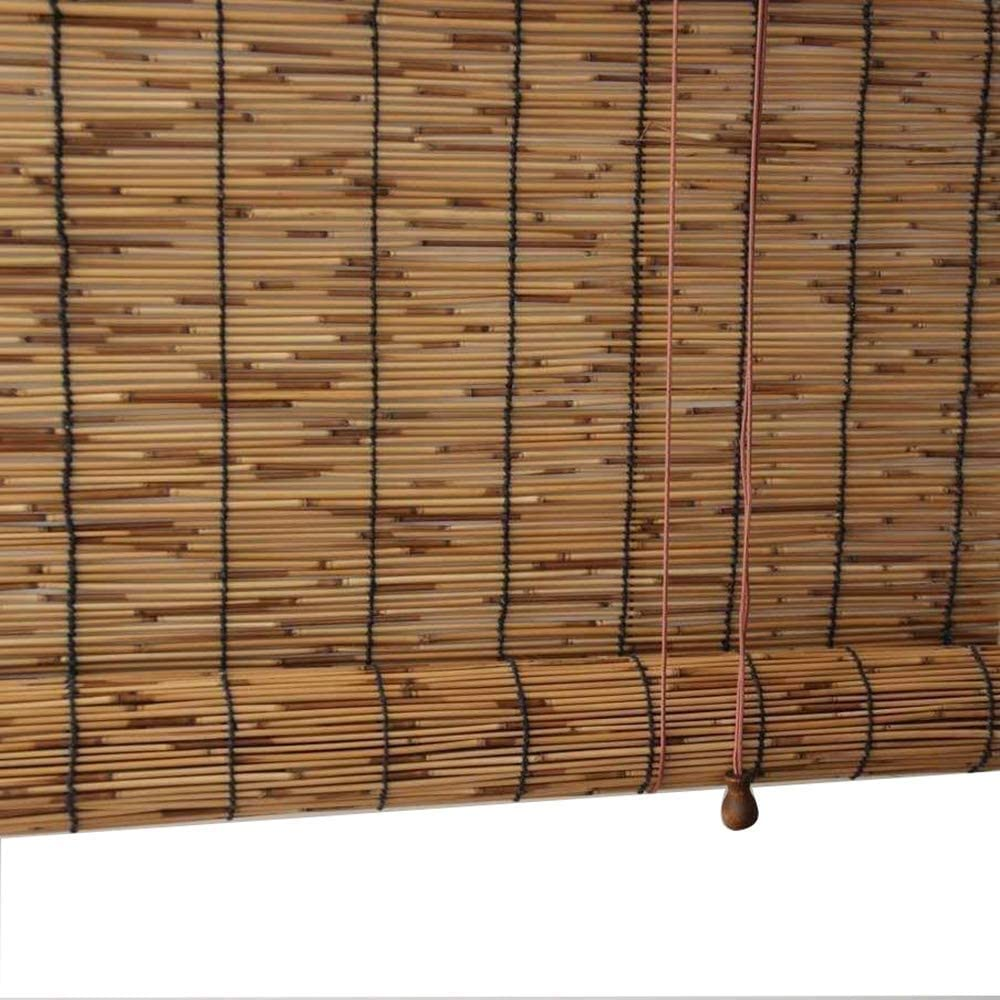 YAO XING Natural Reed Curtain Same Ranking TOP13 day shipping Roller Blinds Windo Bamboo Roman