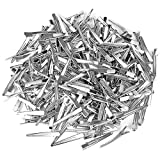 10pcs Hairclips Single Prong Alligator Hairpin With Teeth Blank Setting Jewelry Making Base For DIY Hair Clips Hairdressing Styling Tools(25mm)