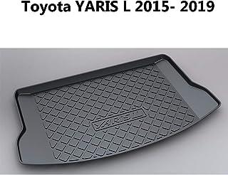 2006-2011 Rey Alfombrillas/® PVC Cubeta Maletero Toyota Yaris 3 o 5 Puertas - Posici/ón Bandeja Maletero Baja