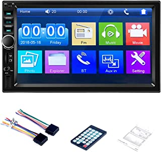 Car Video Mp5 Player 7-inch High-definition Touch Screen Wireless Bluetooth Connection Reversing Assist and Fm Radio Funct...