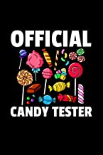 Candy Tester Lollipop Sweets Gift Halloween Kids Notebook 114 Pages 6''x9'' College Rule