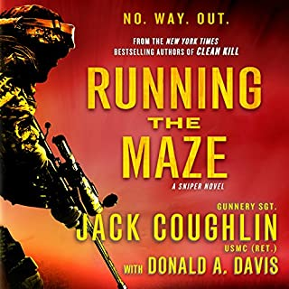 Running the Maze audiobook cover art