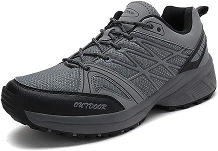DierCosy Zapatos de Trekking y Senderismo para Hombre Mujer Deportes Exterior Boats Escalada Sneakers
