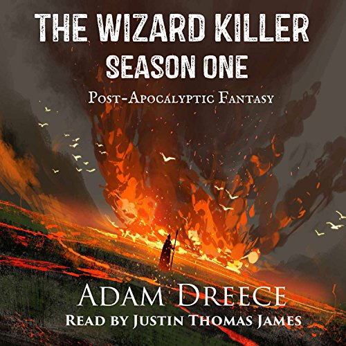 The Wizard Killer, Season 1     A Post-Apocalyptic Fantasy Serial              Auteur(s):                                                                                                                                 Adam Dreece                               Narrateur(s):                                                                                                                                 Justin Thomas James                      Durée: 2 h et 56 min     3 évaluations     Au global 5,0