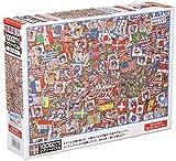 1000ピースジグソーパズル Where's Wally?せいだいなパーティ マイクロピース(26×38cm)