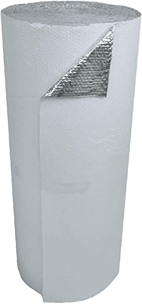 US Energy Products 48 X 100 White Double Bubble Reflective Foil Insulation Thermal Barrier R8