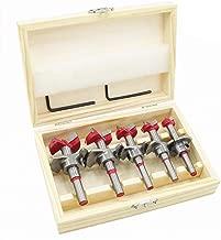 flintronic® Dübelbohrer Holzbohrer Set, (15~35mm) Forstner Bohrer, Bit-Set, Holzbohrer Topfbohrer Kunstbohrer für Holzbearbeitung Mehrzweckbohrer