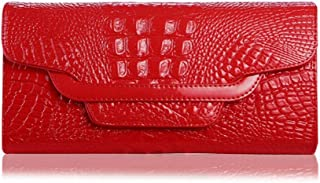 Pusaman New Summer Personality Clutch Bags, Evening Bags Fashion Wild (Color : Oblique Red, Size : 25.5 * 14 * 5CM)