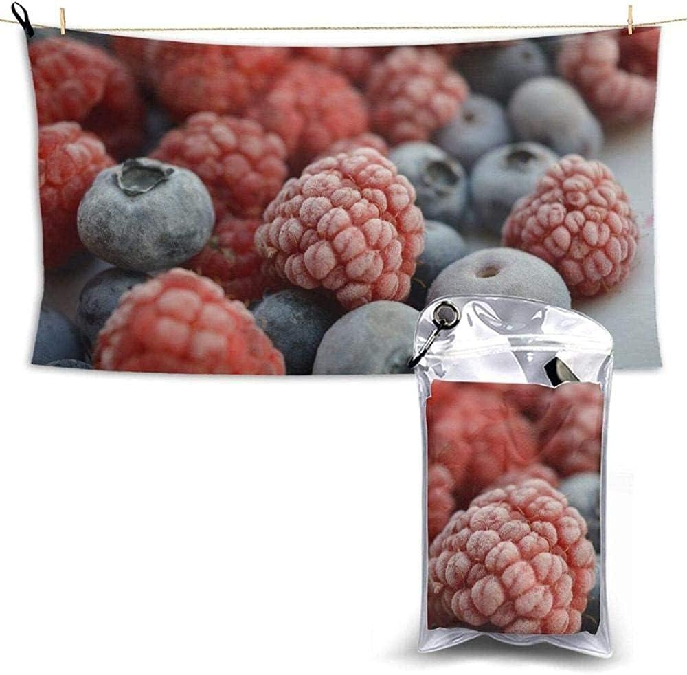 Microfiber Beach Low price Towels Raspberries Dr Quick Berries Blueberries Long-awaited